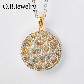 Jewelry Manufacturer Products 3D Copper Metal Christmas Pendant
