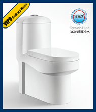 Siphonic Flushing Water Saving One-piece Ceramic Toilet