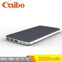 Caibo power bank 20000mah slim power banks Portable Power Bank