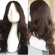 Best quality multidirectional silk top virgin european human hair jewish wig
