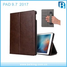 PU Leather Case with Hand Strap for iPad pro 9.7 Business case