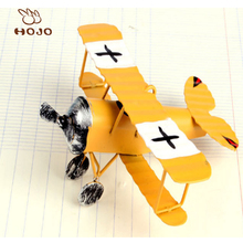 hot selling metal crafts antique decorative airplane model
