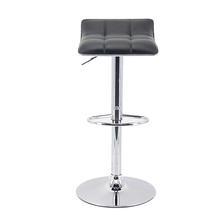 Leather Modern Adjustable Swivel Barstools Hydraulic Chair Bar Stools