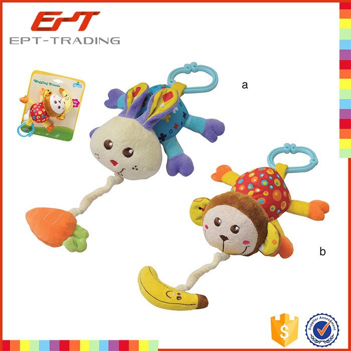 Wholesale cheap baby plush doll toys plush animal for sale
