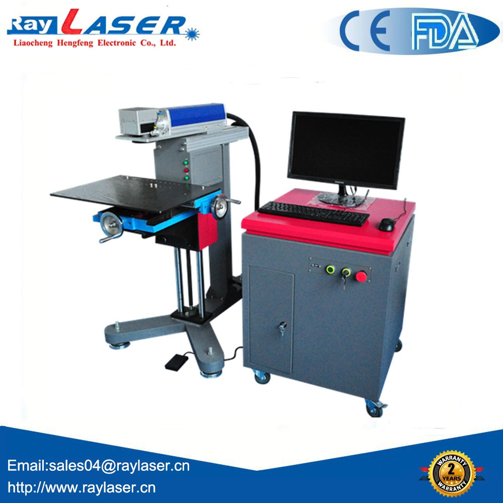 china factory reasonable price split type good service fiber laser marking machine on sale good quality