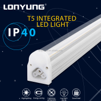Architectural led lighting hospitals Power factor>0.92 t5 hanging led fluorescent tube light fixtures