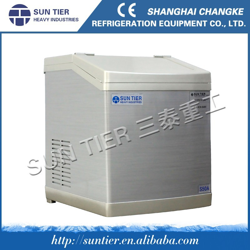 Large Portable Ice Cube Maker 1.5tons/day For Ice Fresh