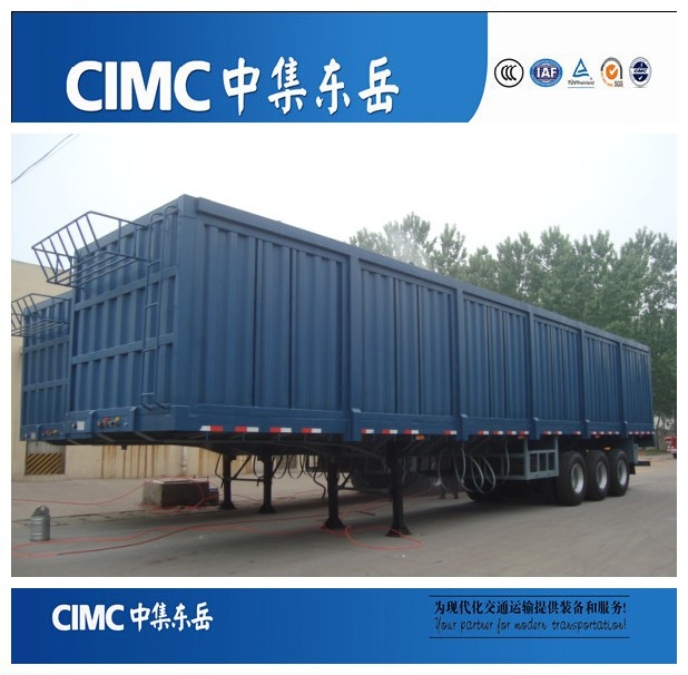 CIMC Strong Box Utility Semi Trailer,Used Box Trailer