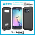 3500mAh External Backup Battery Charger Case for Samsung Galaxy S6 Edge