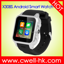 Smart X308S 2017 android wear smart watch Aluminum Alloy Body 3G WIFI GPS android mobile watch