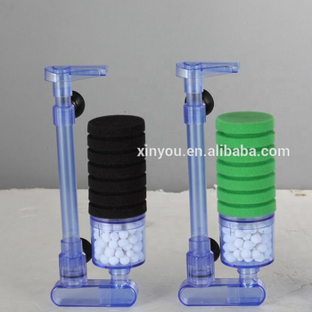 2018 new-style XINYOU sponge filter without pump XY-2881
