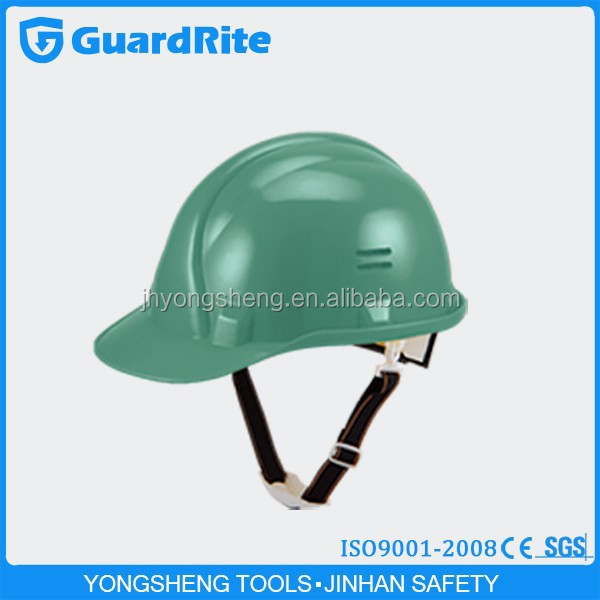 GuardRite brand safety helmet chin strap material ce approved with visor with W-014G modle