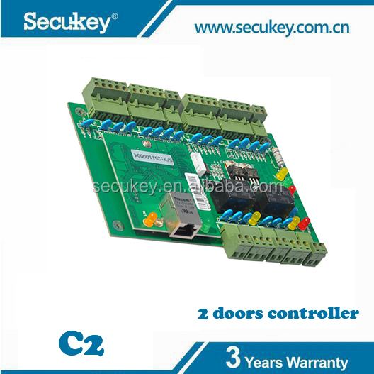 Secukey Network Wiegand Access Control Board for Two Doors