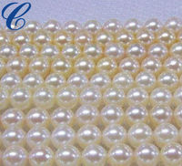 Charming faux ivory pearls beads faux pearl bead string