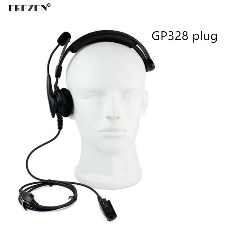 Throat Mic Headset Earpiece Adjustable For Motorola Radio HT750 HT1250 HT1250LS