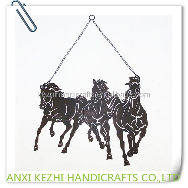 KZ150247 Running Horse Wall Plaque