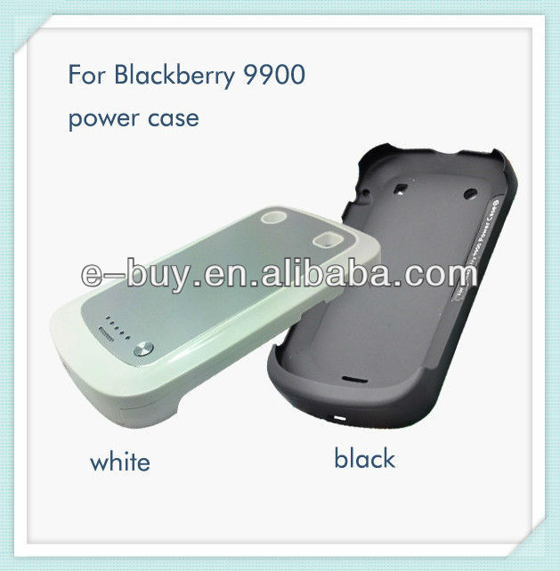 2000mah rechargable power case for blackberry bold 9900 9930