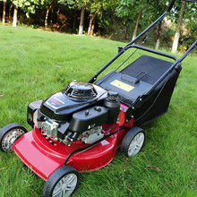 "21"" Aluminum Chassis Lawn Mower/2 Stroke Gas Powered grass cutting tools"