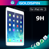 Manufacturer 9H Anti-Broken Glass Screen Protector for iPad Air 3 Tempered Glass