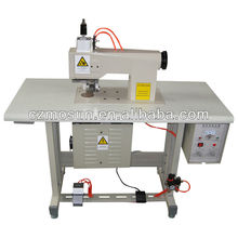 ultrasonic lace sewing machine for leather ribbon cutting (CE) with high quality