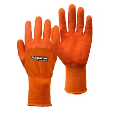 13G palm coating latex rubber hand gloves