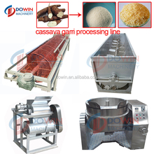 Cassava gari making machinery