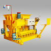 qmy6-25 hydraulic mobile cement block making machine made in china