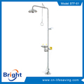 Hot selling hand/ foot operated safety shower for wholesales