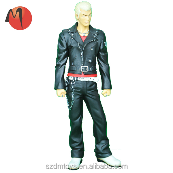 Personalized plastic people action figures ICTI factory