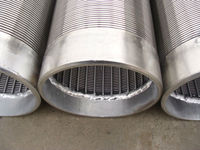 See larger image Oil screen tube,pipe base well screen,slot wire screen tube