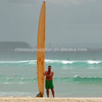 14' wood SUP longboard/ wood sup board / wood sup