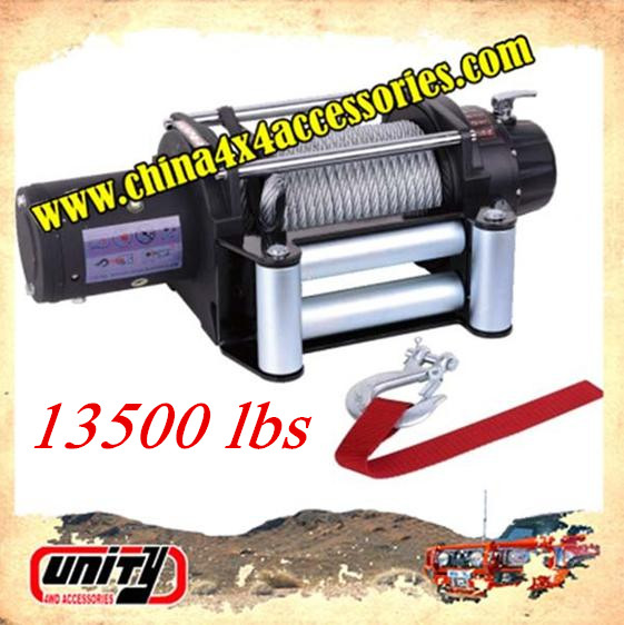 Unity4WD 13500lbs Electric Winch with CE certificate