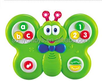 Alphabet Learning Toys : Little butterfly mini talking alphabet baby learning toys for kids