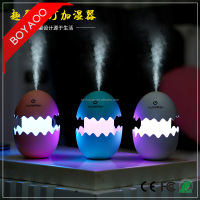 Fun Egg Cartoon Aromatherapy Essential Oil Diffuser LED Lights Ultrasonic Cool Mist Aroma Air Humidifier for Office Baby Bedroom