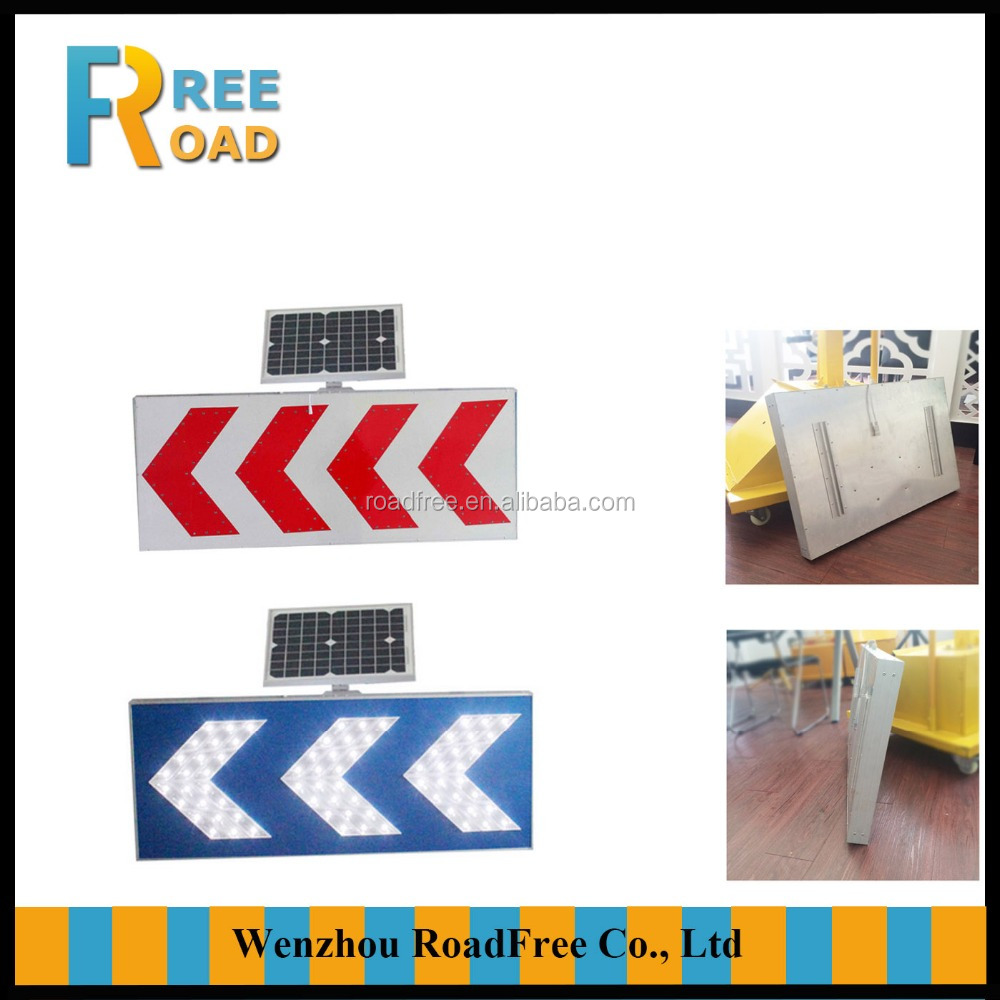 Aluminum solar road signals traffic signs made in China