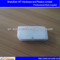 white molded battery container
