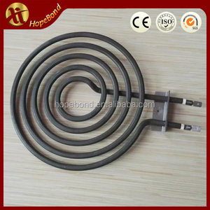 coil tube heating element for electric stove