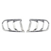 Chrome car lighting accessories plastic tail lamp trims cover for Mustang