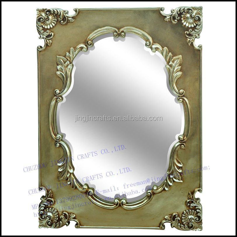 2017 new premium home decoration oval wall mounted mirror