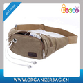 Encai Wholesale Leisure Canvas Waist Pack Good Quality Waist Bags