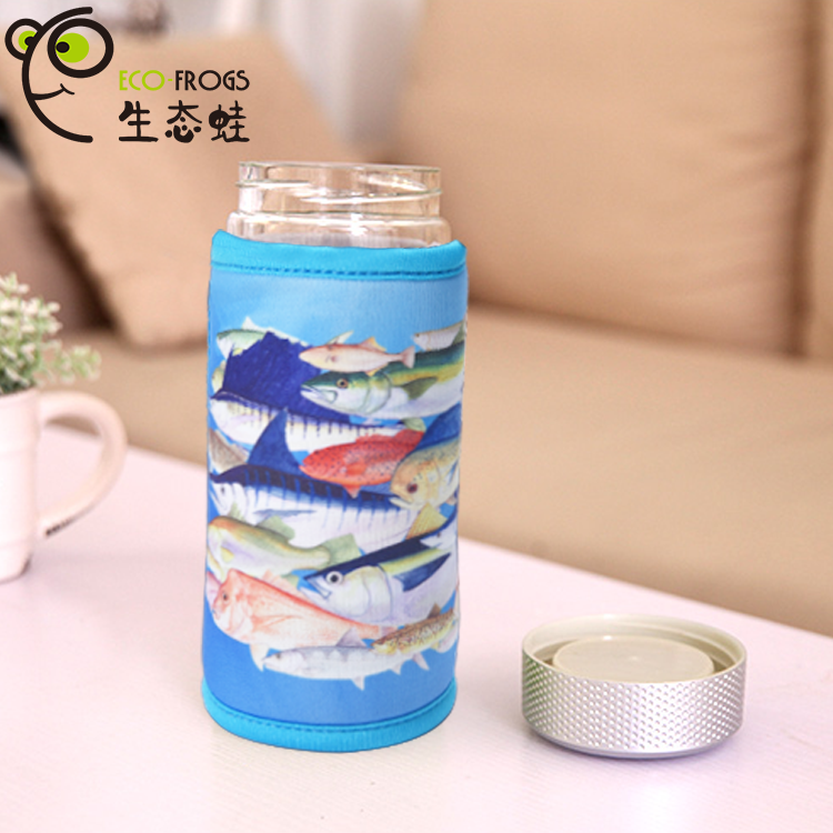 Creative Design Recordable Cup Cover talking Cup holder