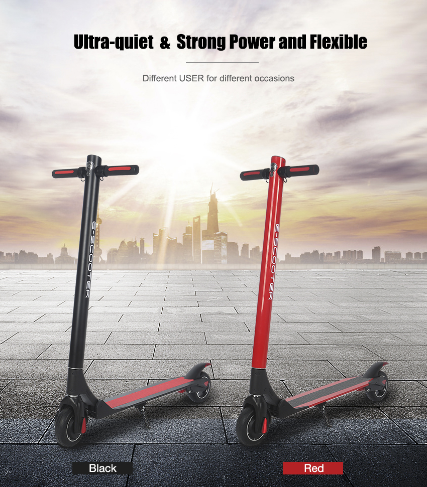 Top quality fashion Folding e scooter electric stand up scooter electrical scooter
