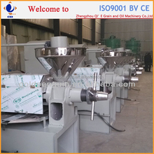 Qi'e high quality groundnut processing machine, edible peanut oil making machine