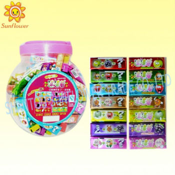 3pcs Tattoo Bubble Gum