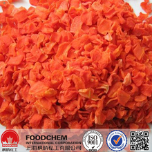 Supply Dehydrated Carrot Flakes