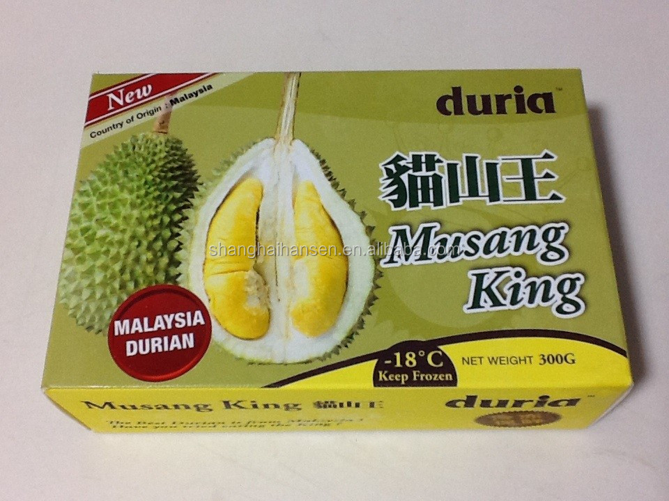 Cat Mountain frozen durian import customs clearance in Shanghai