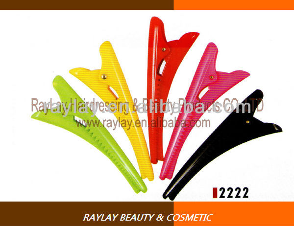 Fashion hairdressing hair salon plastic clip