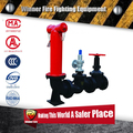 Fire Fighting Pumper Connector overground for fire fighting man with instuction