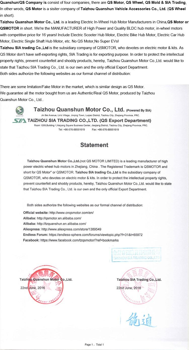 Statement of Quanshun Company.jpg