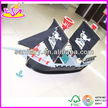 2015 New kids wooden Pirate toys,populae children wooden Pirate toys and hot sale baby wooden Pirate toys WJ276358